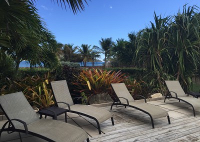 Sundeck with ample loungers